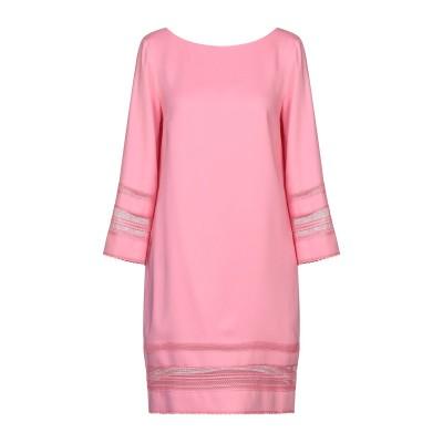 アトス ロンバルディーニ ATOS LOMBARDINI ミニワンピース&ドレス ピンク 42 レーヨン 97% / ポリウレタン 3% / ポリエ