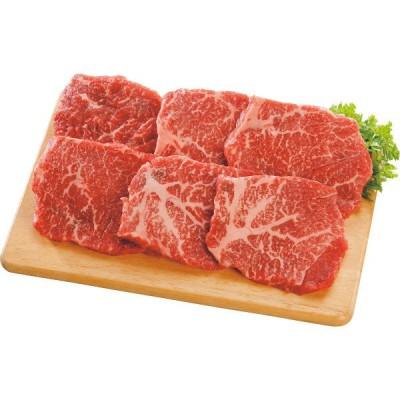 九州産黒毛和牛ミニモモステーキ(6枚) L-Y-TM06-1