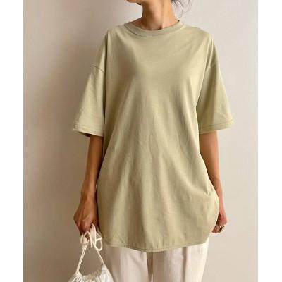 ドライコットンユルTシャツ