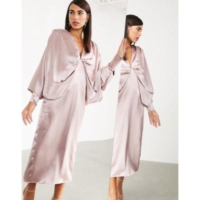 エイソス レディース ワンピース トップス ASOS EDITION extreme kimono sleeve midi dress