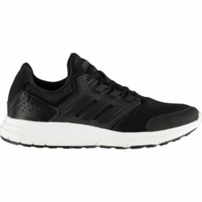 アディダス adidas メンズ スニーカー シューズ・靴 Galaxy 4 Trainers Blk/Blk/Wht