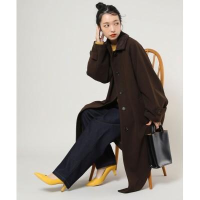 FREAK'S STORE / ウーリーステンカラーコート2 WOMEN ジャケット/アウター > ステンカラーコート
