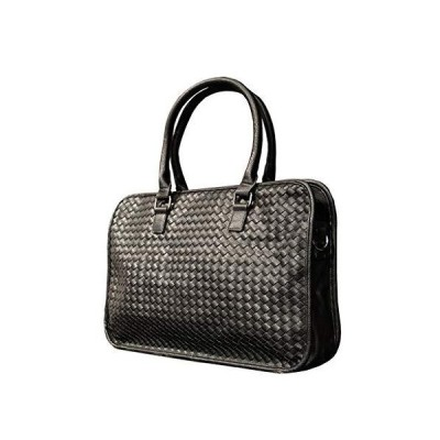 ZHAOTARPS Briefcases, Laptop Bag Hand-Woven Men's Handbag Business Bag Casual Soft Shoulder Messenger Bag【並行輸入品】