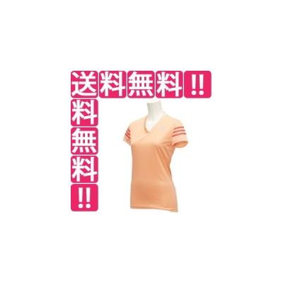 アディダス ADIDAS レスポンス CAP半袖Tシャツ レディース [カラー:サングロー/ショックレッド] [サイズ:S] #KAV76-AI8269