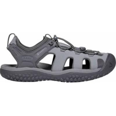 キーン メンズ サンダル シューズ KEEN Men's SOLR Sandals Steel Grey/Magnet