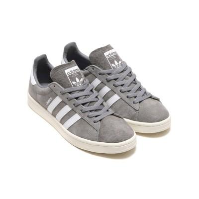【アトモス】 adidas Originals CAMPUS  Grey Three/Running White/Chalk White メンズ グレー 28.5cm atmos