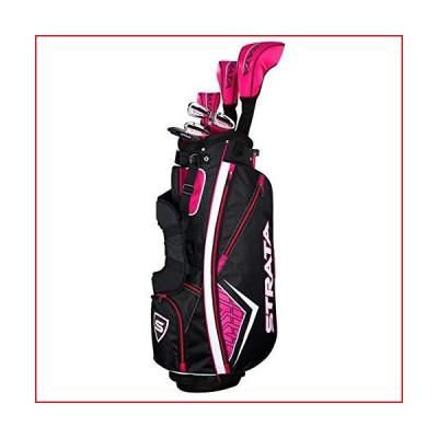 Callaway Women's Strata Complete Golf Set (11-Piece, Right Hand, Graphite)【並行輸入品】