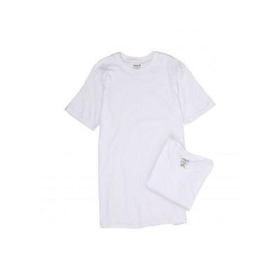 Jockey ジョッキー メンズ 男性用 ファッション Tシャツ Tall Man Cotton Crew Neck 2-Pack - White
