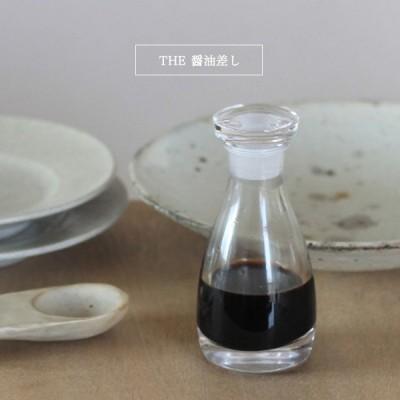 THE 醤油差し 紙箱入り 醤油さし ガラス  液だれしない しょうゆさし ガラス 日本製