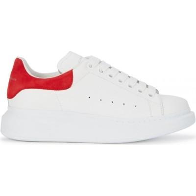アレキサンダー マックイーン Alexander McQueen レディース スニーカー シューズ・靴 Larry White Leather Sneakers White