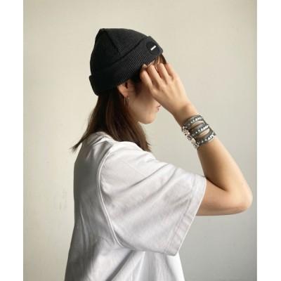 COMMON WARE / RE:DR.DENIM Mario Beanie WOMEN 帽子 > ニットキャップ/ビーニー
