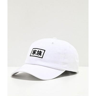 エレクトリック ファミリー ELECTRIC FAMILY メンズ キャップ スナップバック 帽子 kazoku white strapback hat White