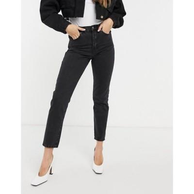 ドクターデニム レディース デニムパンツ ボトムス Dr Denim Nora straight jeans in black