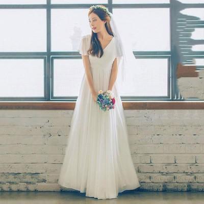 マーメイドドレス 花嫁 ドレス ブライダルドレス リゾートドレス パーティードレス ウエディングドレス レディース二次会 海外旅行 結婚式 ウェデイングドレス