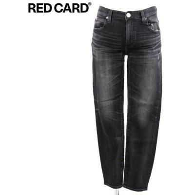 RED CARD レッドカード Ryder tatsuya-Blackvintage スキニー デニムパンツ ユーズド加工 ストレッチ 51841-tbv