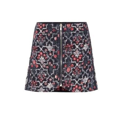 イザベル マラン Isabel Marant, Etoile レディース ミニスカート スカート Printed linen miniskirt midnight