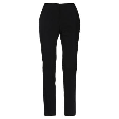 ツインセット シモーナ バルビエリ TWINSET パンツ ブラック 44 レーヨン 95% / ポリウレタン 5% パンツ