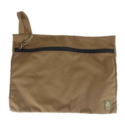 MYSTERY RANCH ミステリーランチ FLAT BAG フラット バッグ L カーキ系 【中古】