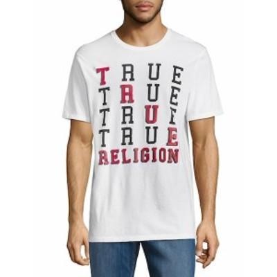 トゥルー リリジョン メンズ トップス Tシャツ ポロシャツ Crewneck Cotton Tee