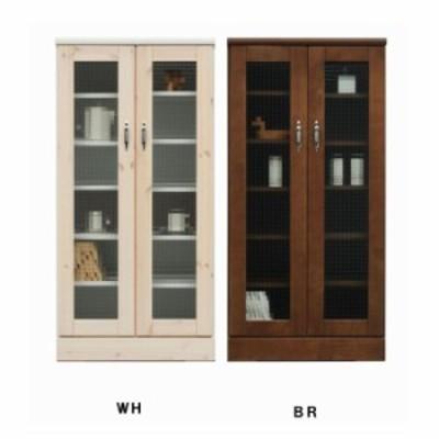 キャビネット リビング収納 60 サイドボード 開き扉 完成品 日本製 木製 収納 おしゃれ 白 ブラウン 2色選択 収納家具 送料無料