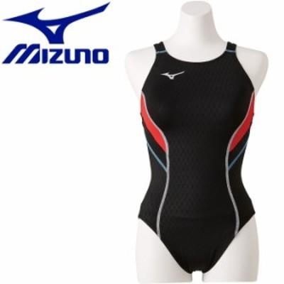 【メール便送料無料】ミズノ 水泳 ストリームアクティバ ローカット オープン 競技水着 レディース N2MA824097 返品不可