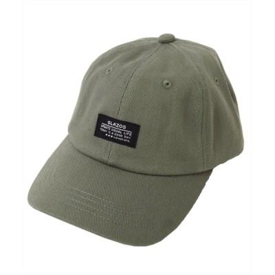 GLAZOS / ネーム付きツイルキャップ KIDS 帽子 > キャップ