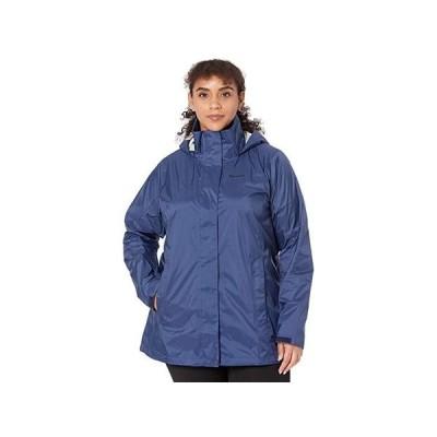 マーモット Plus Size PreCip Eco Jacket レディース コート アウター Arctic Navy