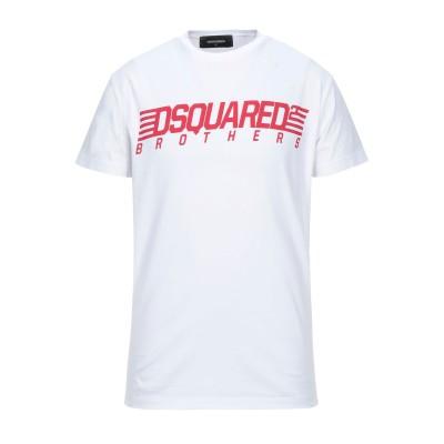 ディースクエアード DSQUARED2 T シャツ ホワイト XL コットン 100% T シャツ