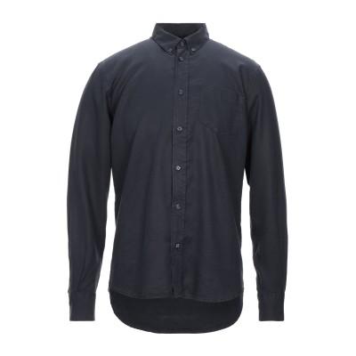 SUIT MODERN ARCHIVES シャツ ダークブルー S 指定外繊維(テンセル)® 100% シャツ