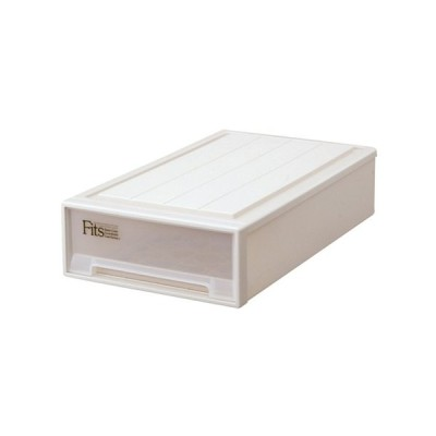 フィッツケース スリムL カプチーノ タンス たんす 収納 収納用品 押入れ収納 衣類収納 衣装ケース キッチン収納 収納棚 リビング収納 家具