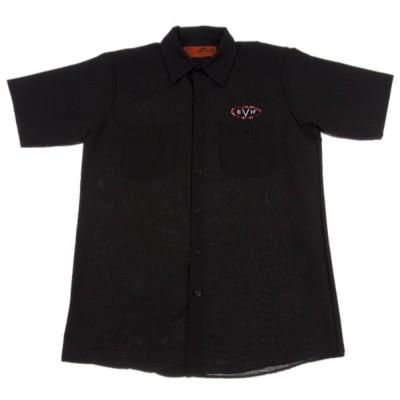 EVH Woven Shirt Black XL ワークシャツ