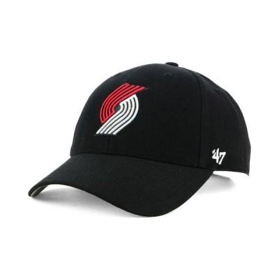 47ブランド メンズ 帽子 アクセサリー Portland Trail Blazers Team Color MVP Cap