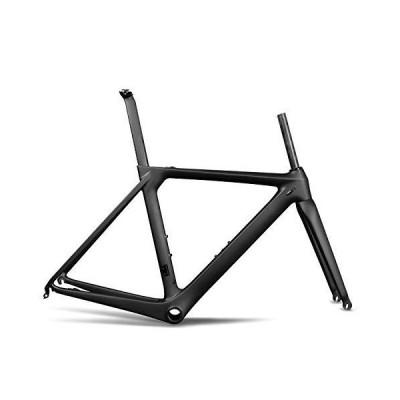 (新品) ICAN Full Carbon Aero Road Bike Frameset BB86 UD Matt 58cm