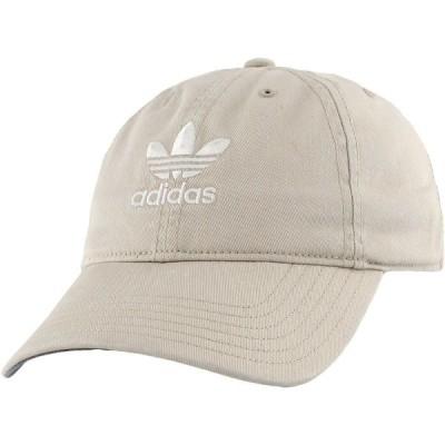 アディダス 帽子 アクセサリー レディース adidas Originals Women's Relaxed Strapback Hat Khaki