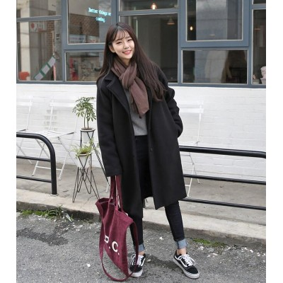 「韓国ファッション」可愛らしい印象体型カバーコート韓国ファッション アウター 秋から初冬まで上品レディースコート ジャケット