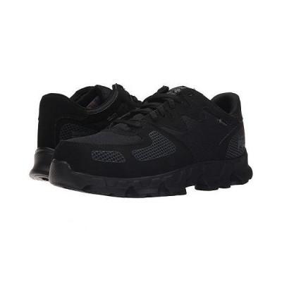 Timberland PRO ティンバーランド メンズ 男性用 シューズ 靴 スニーカー 運動靴 Powertrain Alloy Safety Toe ESD - Black Synthetic/Ripstop Nylon