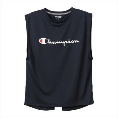 【1点までメール便可】 [Champion]チャンピオン レディース C ベイパー タンクトップ (CW-RS301)(370) ネイビー[取寄商品]
