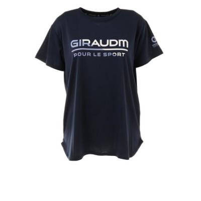 Tシャツ レディース 半袖 ドライ 吸汗速乾 UVカット メッシュシャツ 864GM1CD6678 NVY