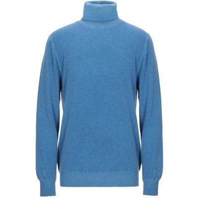 HENRI LLOYD タートルネック ブライトブルー XL レーヨン 35% / ウール 30% / ナイロン 30% / カシミヤ 5% タート