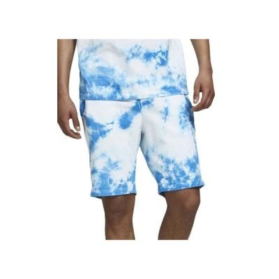 ジャック アンド ジョーンズ メンズ ハーフパンツ・ショーツ ボトムス Men's Tie Dye Drawstring Shorts