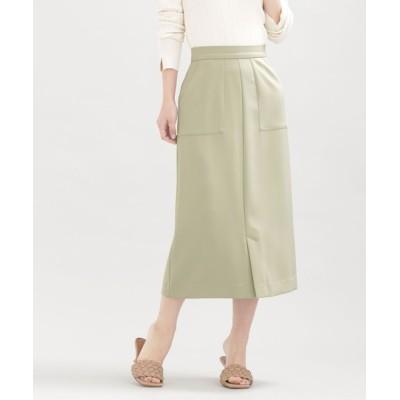 nano・universe / WEB限定/スリットタイトスカート WOMEN スカート > スカート