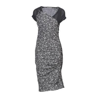 ピンコ PINKO 7分丈ワンピース・ドレス グレー 44 ポリエステル 100% / ウール 7分丈ワンピース・ドレス