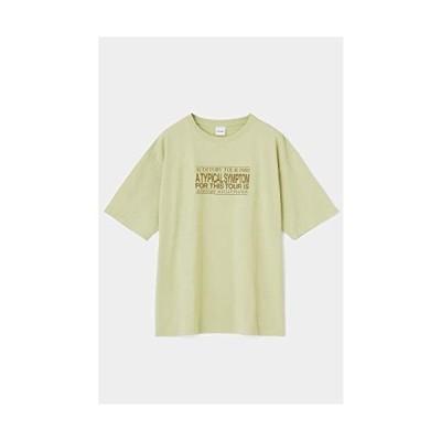 マウジー tシャツ AUDITORY Tシャツ 010DAH90-5940 Free Size 黄緑 レディーズ