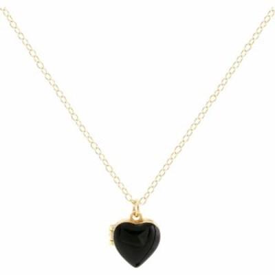 クリスネーションズ KRIS NATIONS レディース ネックレス ハート ジュエリー・アクセサリー Enamel Heart Locket Necklace 18k Gold Verm