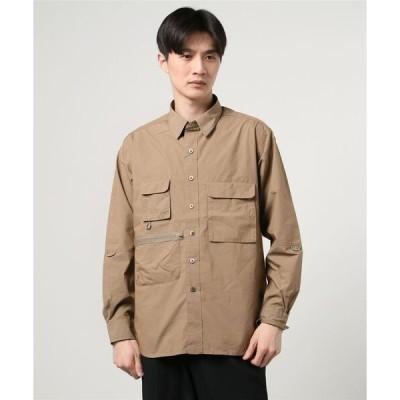 シャツ ブラウス POPLIN Fishing Shirt フィッシングシャツ