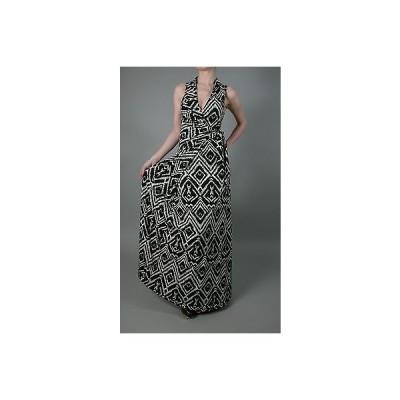 ドレス ハウスオブハーロウ T-Bags Tbags Los Angeles Plus Geometric Print Faux Wrap Maxi Dress