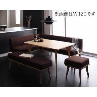 ダイニングテーブルセット 7人用 コーナーソファー L字 l型 ファミレス風 ベンチ 椅子 おしゃれ 安い 北欧 食卓 カウチ 5点 ( 机+ソファ1