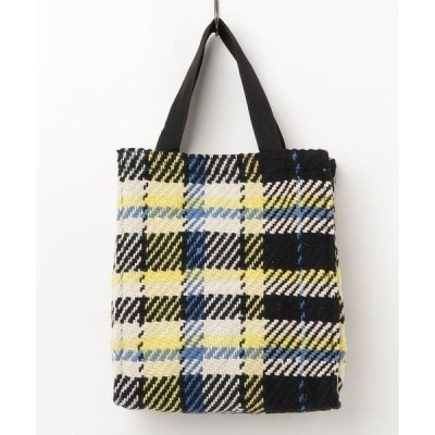 トートバッグ バッグ Lilas Campbell Check pattern box totebag