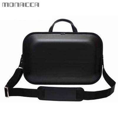 木のバッグ モナッカ monacca kaku-ss (ブラック/ブラックエッジ) 日本製 ※北海道・沖縄・離島も送料無料