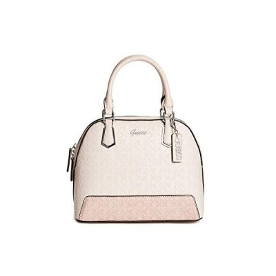 GUESS Factory Barretto Debossed Logo Dome Satchel【並行輸入品】